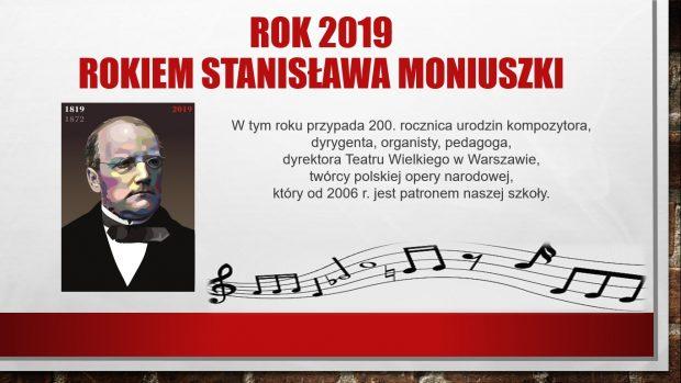 Rok 2019 Rokiem Stanisława Moniuszki