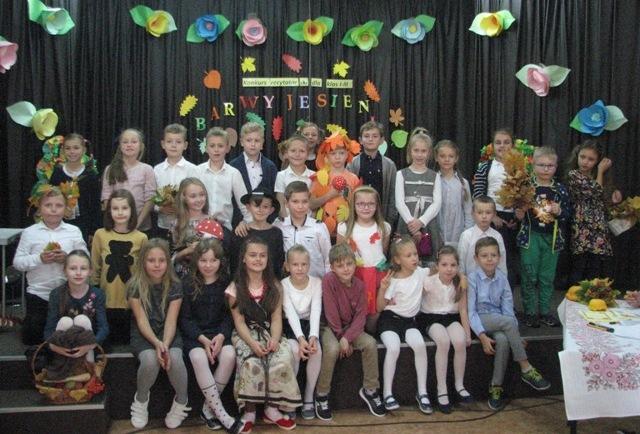 Konkurs Recytatorski Barwy Jesieni Szkoła Podstawowa Nr